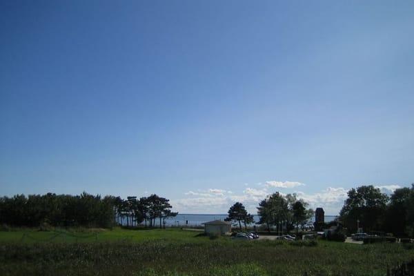 Das ist Ihr Blick auf die Ostsee (Greifswalder Bodden).