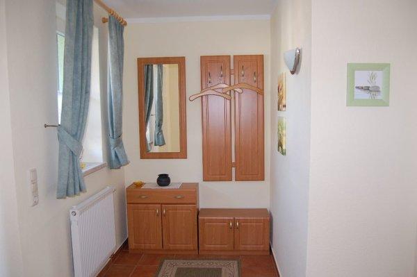 Garderobe im Eingangsbereich