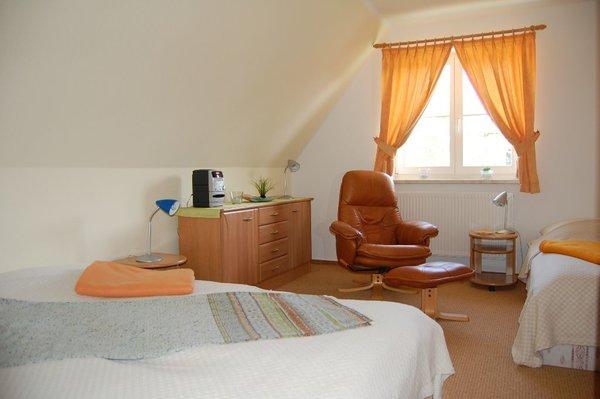 Schlafzimmer mit Leseecke
