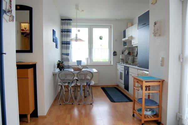 Die Küche ist vollständig ausgestattet und sie werden kaum etwas vermissen