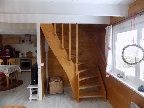 Der Treppenaufgang