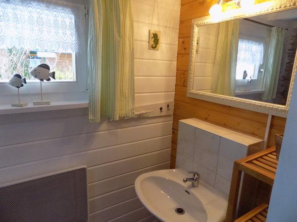 Das Bad im Erdgeschoss
