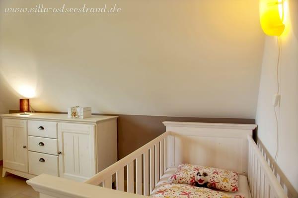 Ferienhaus villa ostseestrand am k stenwald 5 zimmer - Kinderbett doppel ...