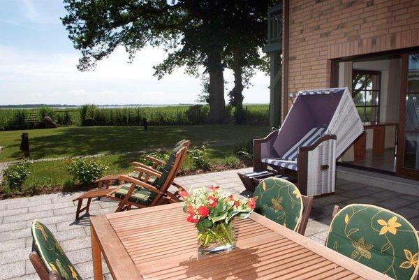 wunderbare Terrasse mit  schönem Blick
