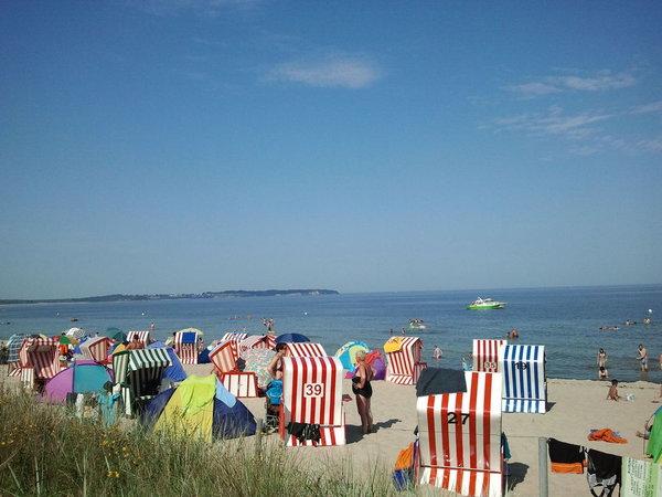 Strand des Ostseebades Thiessow