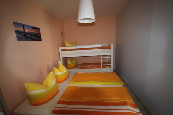 Schlafzimmer für vier Personen