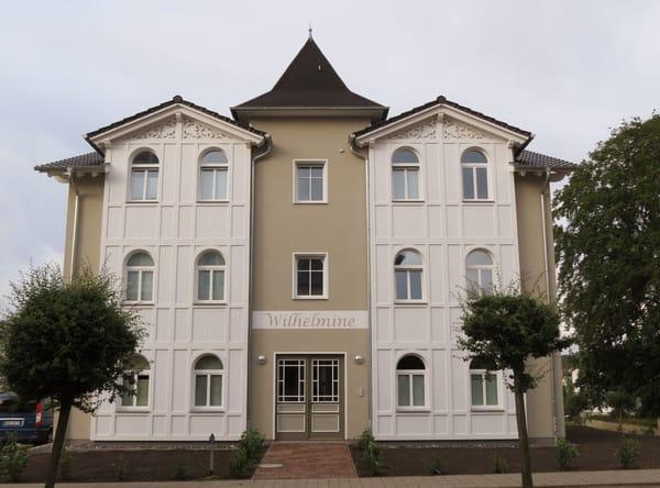 Vorderansicht Villa Wilhelmine