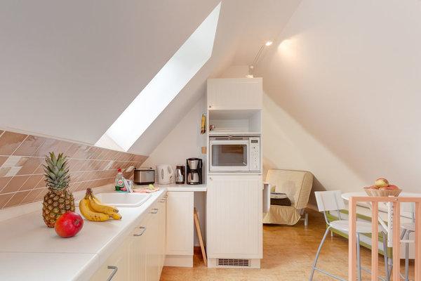 Küchenbereich mit Eßplatz