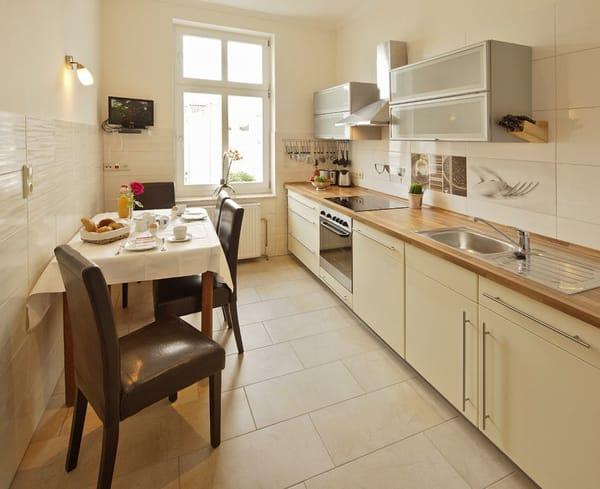 Villa See-Eck FeWo 1.OG - Küche