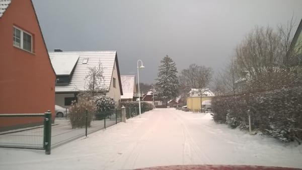 Niege Reeg im Winter