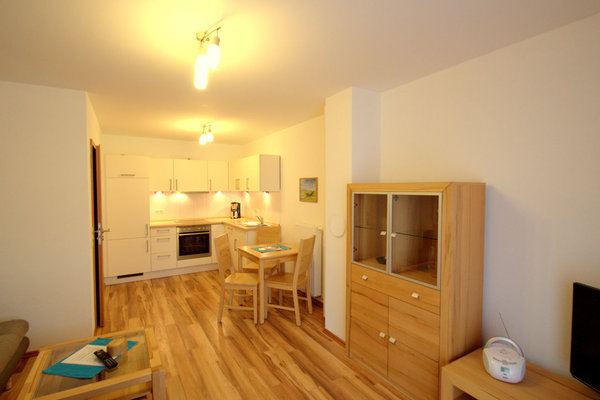 Wohn/Essbereich (Küche mit Geschirrspüler, Backofen...)