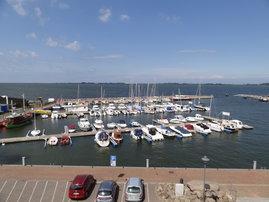 Yachthafen von Wiek