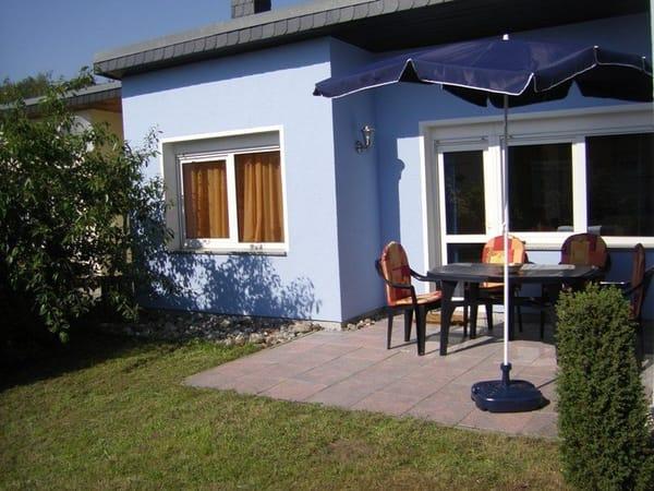 Haus Terrassenansicht