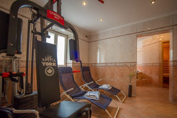 Stadt-Residenz Sauna Fitness
