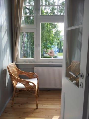 Kleine Veranda am Wohnzimmer