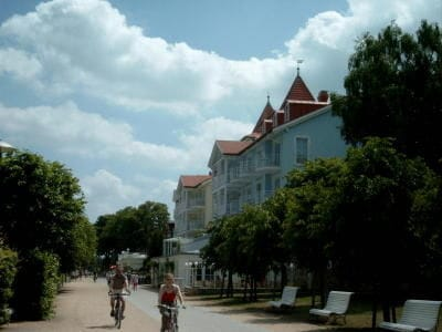 Promenade von Zinnowitz