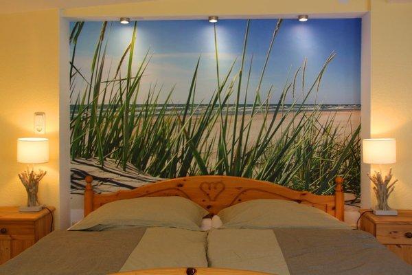 So entspannt schlafen wie am Strand unter Dünengras... :o)