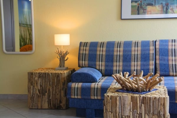 Zum lümmeln... Ostsee-blaues Sofa
