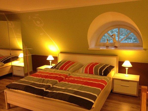Schlafmmer mit Doppelbett ruhig und behaglich