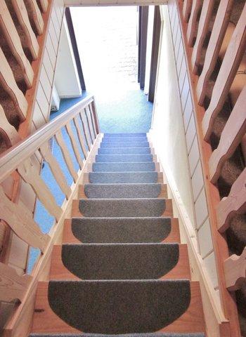 OG / Treppe zum Eingang