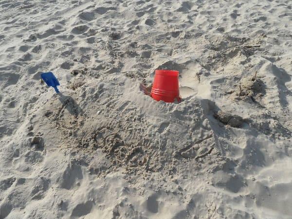..der größte Sandkasten weit und breit, der feinsandige Ostseestrand von Karlshagen