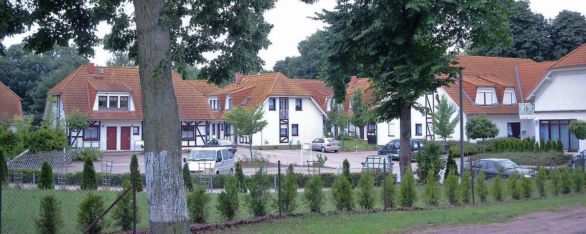 Der Ferienpark Gustow in Gustow auf Rügen Süd nahe der Hansestadt Stralsund