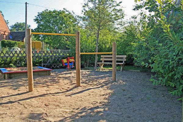 Kleiner Spielplatz für die Kleinen