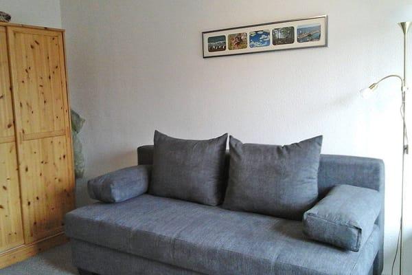 ausziehbare Schlafcouch (1,70 x 2,00 m)