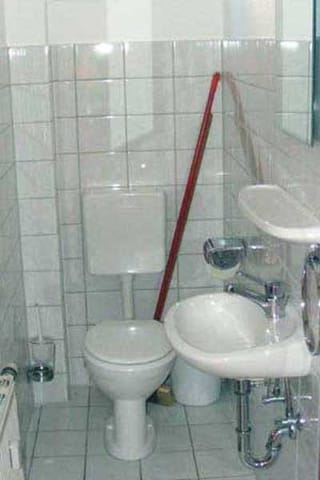 Zweites WC im Erdgeschoss
