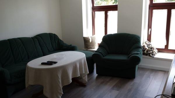 gemütliche Sitzecke im Wohnzimmer