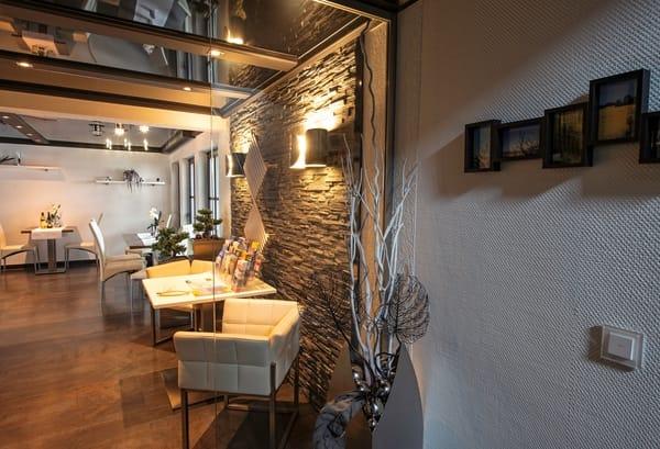 Eingangsbereich zum Frühstücks- und Aufenthaltsraum