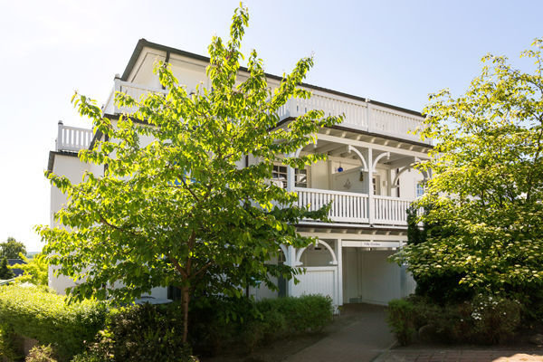 Die Villa Grieben in Binz.