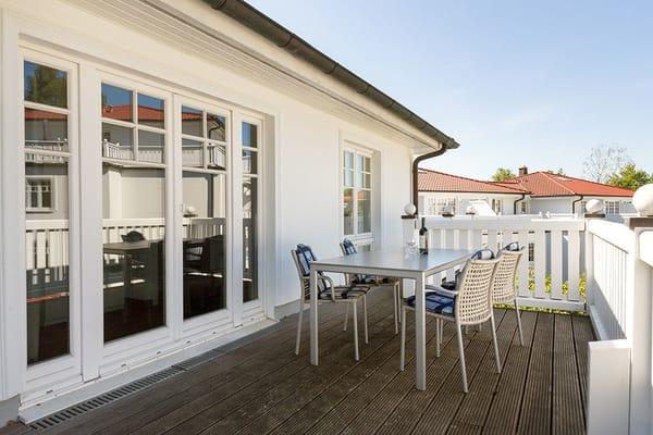 ... in der Villa Grieben im Ostseebad Binz!