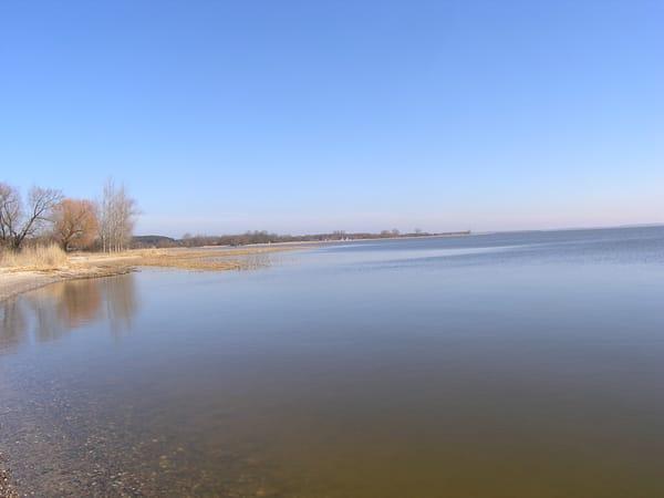 Spaziergang am Gnitz/Achterwasser