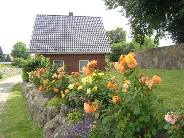 ...viele Blumenrabatten ums Haus sollen Sie erfreuen...Herzlich willkommen...