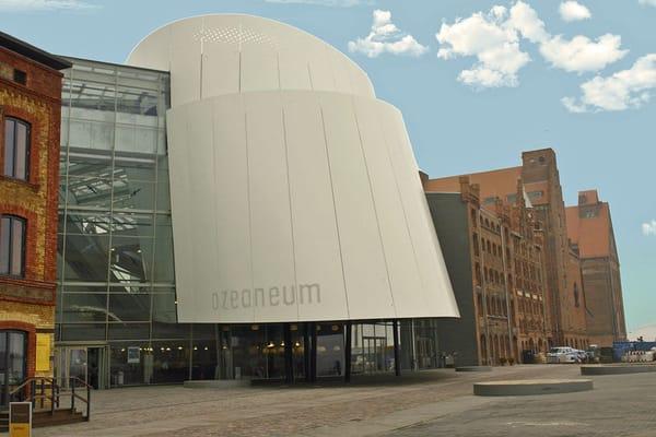 Das Meeresmuseum Ozeaneum in Stralsund