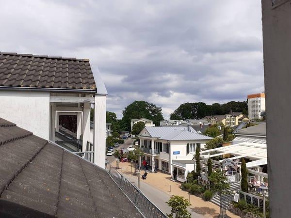 Blick vom Balkon nach links