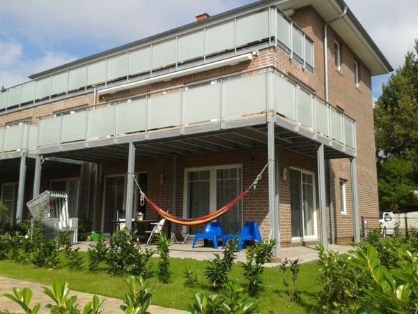 Hochwertige Ferienwohnung mit Terrasse am Hafen des ehemaligen Fürstenbades Lauterbach