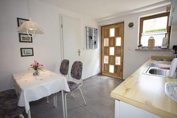 Küche der Wohnung 1.