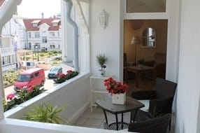 Balkon Gästezimmer Obergeschoss