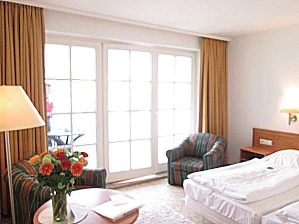 Wohn- / Schlafraum mit Balkon zur Ostsee