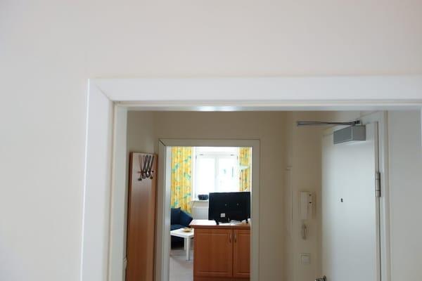 Blick durch die Wohnung 1