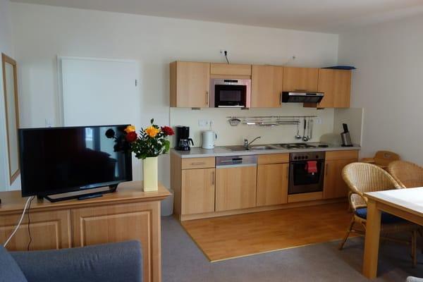 Küche Wohnung 9 vergleichbar mit Wohnung 5