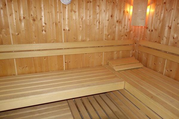 Sauna für alle Gäste