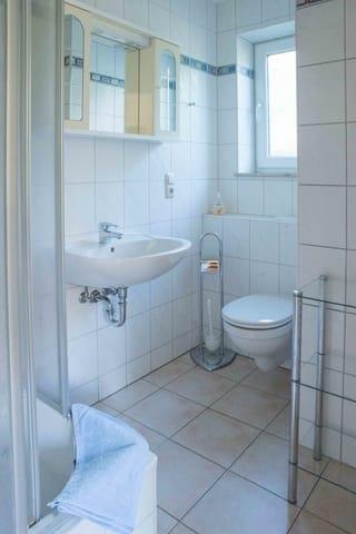 WC, Dusche, Bad