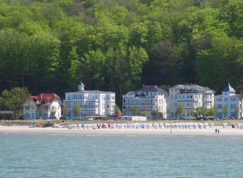 Die Villa Agnes in bester Strandlage in Binz!