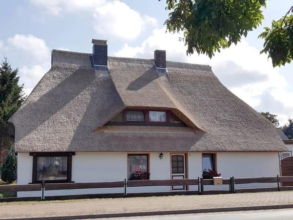 Fischerhaus, Ansicht vom Mölschower Weg