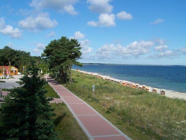 Strandpromenade in Glowe
