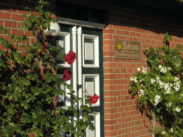 Separater Eingang zur Feriwnwohnung.