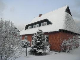 Die Ferienwohnung ist  auch für den Winter gut geeignet.